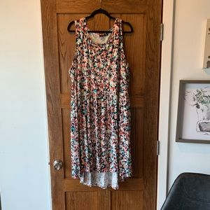 Multi-Colored Tank Top Dress